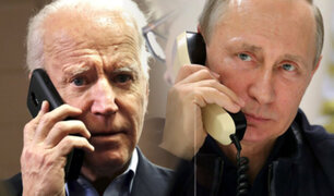 """Joe Biden reveló que tuvo una llamada """"respetuosa y sincera"""" con Putin"""