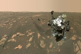 Histórico: helicóptero 'Ingenuity' realizó primer vuelo en Marte