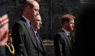 Funeral del Príncipe Felipe: El esperado reencuentro entre William y Harry tras casi un año