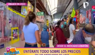 Mercado Lobatón: ¿Cómo se mantienen los precios en centros de abastos?