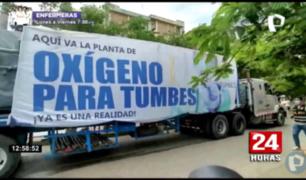 Tumbes ya cuenta con planta de oxígeno comprada por gobierno regional
