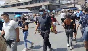 Mesa Redonda: pese a ser obligatorio mayoría de visitantes  no usan protector facial contra el Covid-19
