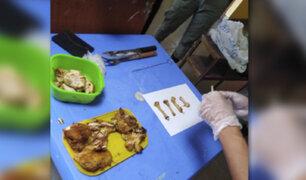 Piura: frustran ingreso de droga camuflada entre huesos de pollo en penal