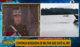 Militar desaparecido tras caer al río Vilcanota: familia pide traslado a zona para ayudar en búsqueda