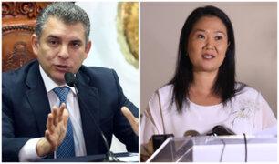 """Rafael Vela sobre Keiko Fujimori: Fiscalía """"nunca se ha opuesto"""" a que PJ la autorice a viajar"""