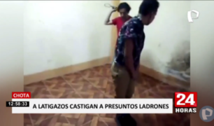 Cajamarca: ronderos hacen bailar y azotan a ladrones