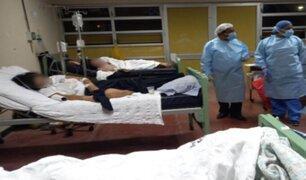 Chimbote: reportan que Hospital Eleazar Guzmán alcanzó su límite de hospitalizados