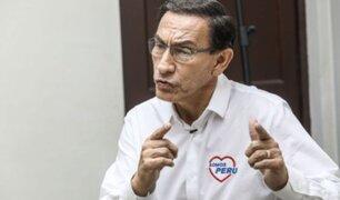 Congreso envía resolución sobre inhabilitación de Vizcarra al JNE