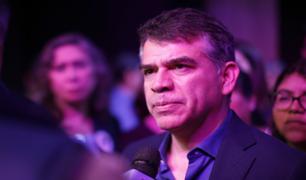 Militantes del Partido Morado piden la renuncia de Julio Guzmán tras resultado de elecciones