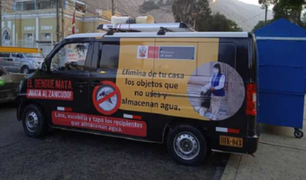 'Dengue móvil': campaña para controlar propagación de la enfermedad viral en Lima Este