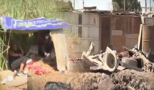 Pantanos de Villa están invadidos por indigentes y montículos de basura