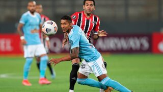 Contundente: Sao Paulo goleó 3-0 a Sporting Cristal por Copa Libertadores