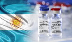 """Argentina es el primer país latinoamericano que produce la vacuna """"Sputnik V"""""""