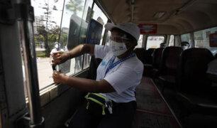 COVID-19: ATU exhorta a pasajeros de transporte público a mantener las ventanas abiertas