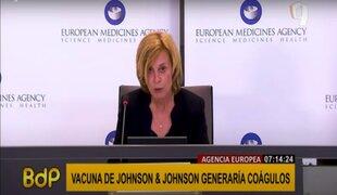 Reportan casos de formación de coágulos por vacuna de Johnson & Johnson