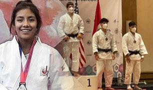 Selección peruana de Judo logra cinco medallas en Copa Panamericana