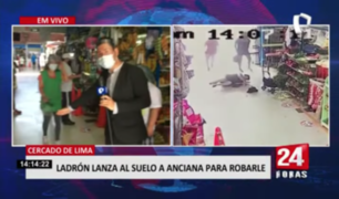 Comerciantes de mercado piden mayor seguridad tras violento robo a anciana