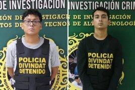 Caen ciberdelincuentes de 21 años que robaron más de S/ 20 mil a una empresa