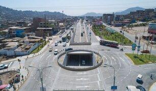 Más de 600 mil vecinos se beneficiarán con renovación de avenidas Los Héroes y Pachacútec