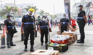 Municipios de Lima y Chorrillos recuperan ciclovía que era ocupada por los ambulantes