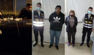 Arequipa: capturan a banda dedicada a la venta de droga tras persecución vehicular