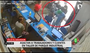 VES: asaltan a trabajadores y clientes en taller de parque Industrial