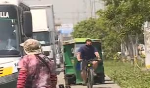 Santa Anita: denuncian que mototaxistas invaden veredas y ponen en riesgo la vida de peatones
