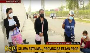 Hospital de Pisco: denuncian falta de información sobre estado de salud de pacientes covid