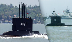 Indonesia: Desaparece un submarino de la Marina con 53 personas a bordo