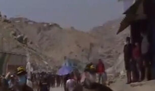 SJL: al menos 300 personas invaden terreno en la zona de Las Praderas de San Ignacio