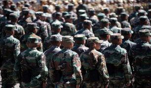 Castillo anunció servicio militar para jóvenes que no estudian ni trabajan