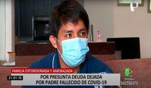 Familiares de fallecido por COVID-19 denuncian ser extorsionados por delincuentes
