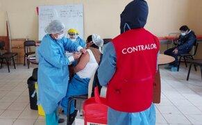 Contraloría va detectando más de 500 vacunaciones irregulares
