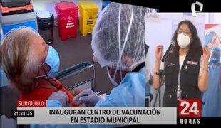 Vacunatorio en Surquillo: desde el lunes se inmunizará a ancianos de 70 a 79 años