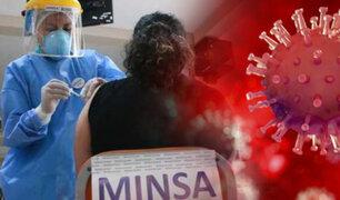 Perú alcanzará inmunidad de rebaño cuando el 75% de peruanos se vacune, afirma Ugarte