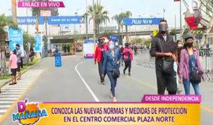 Centro comercial Plaza Norte: ¿Cúales son las nuevas medidas de protección contra covid-19?