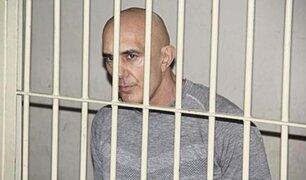 Narco serbio Zoran Jaksic fue llevado a Base Naval del Callao tras descubrirse su plan de fuga