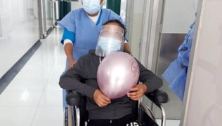 COVID-19: adolescente de 16 años es dada de alta tras 17 días en UCI de Cusco