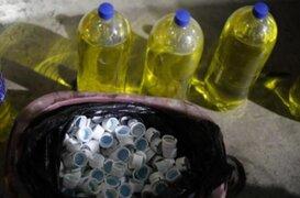 San Miguel: PNP desarticula banda que adulteraba gaseosas de conocidas marcas