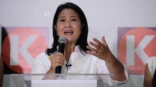 Keiko Fujimori: Que debate sea espacio para dar propuestas para que la gente esté informada