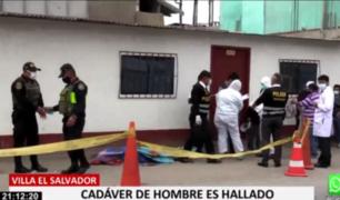 VES: hombre es hallado muerto en puerta de vivienda