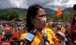 """Keiko Fujimori tilda de """"fiasco"""" el gobierno de Vladimir Cerrón en Junín"""