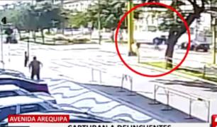 Investigan confuso incidente de persecución y balacera en La Victoria