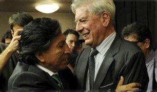 Vargas Llosa sobre respaldo político a Toledo: ¿Quién iba a imaginar que iba a robar?