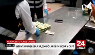 Mujer intenta ingresar 37.000 dólares al Perú en botellas de licor y café