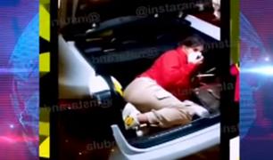 Yahaira Plasencia organizó fiesta clandestina y se escondió en maletera para evitar intervención