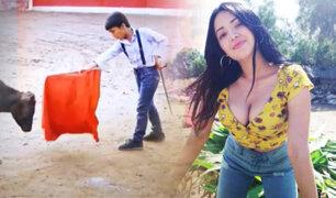 EXCLUSIVO  Desde Canta: La escuela de niños toreros