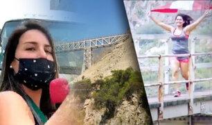 Desde Chosica: Este es el puente más extremo del Perú