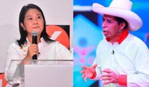 Segunda Vuelta: Keiko Fujimori y Pedro Castillo acuerdan dos debates tras consenso