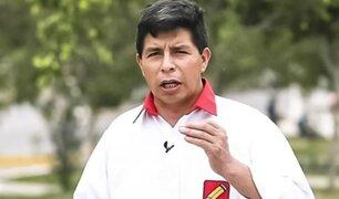 Pedro Castillo se comprometió a dejar la presidencia en 2026 si es elegido
